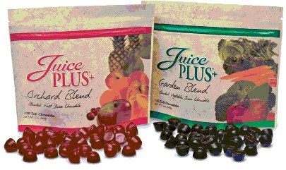 juice plus products - chewables